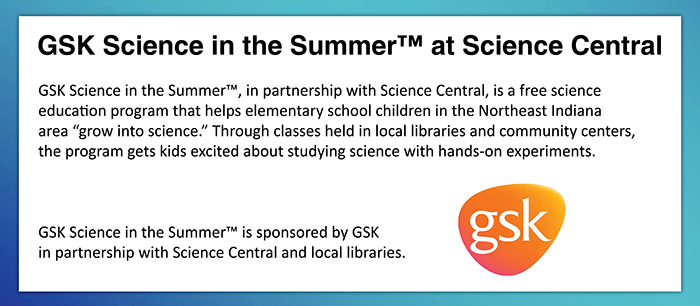 Click for information on GSK Science in the Summer.